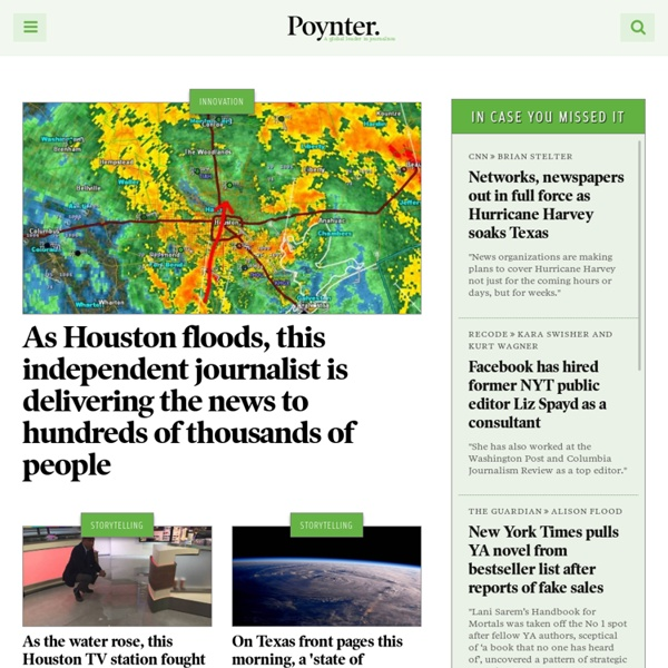 Poynter – A global leader in journalism. Strengthening democracy.