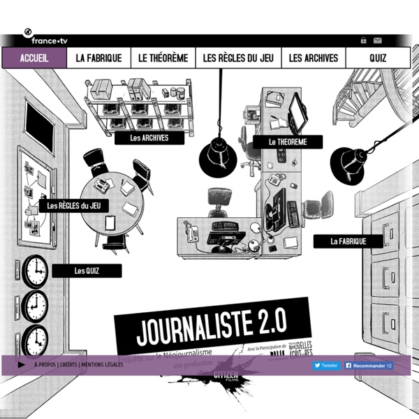 Journaliste 2.0 - Welcome