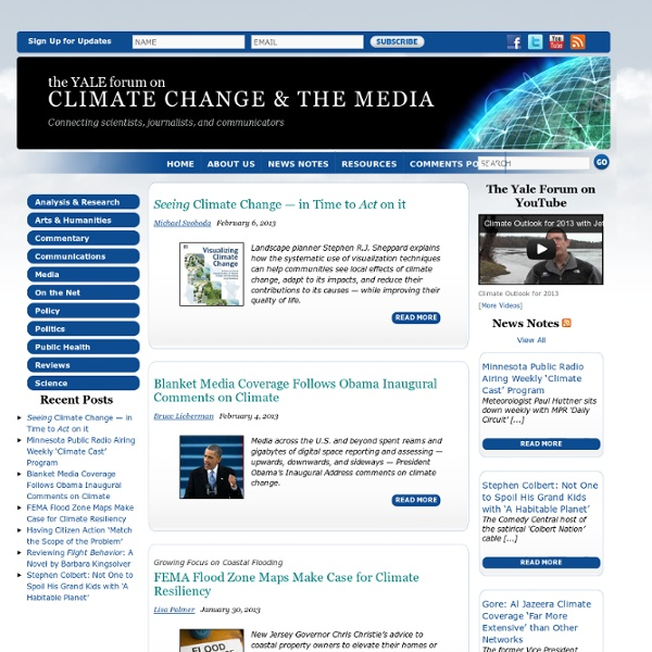 The Yale Forum on Climate Change & The Media