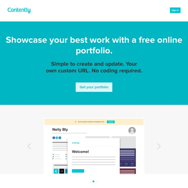 Network : Contently: Empowering and connecting quality reporters and publishers.
