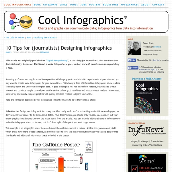 10 Tips for (journalists) Designing Infographics
