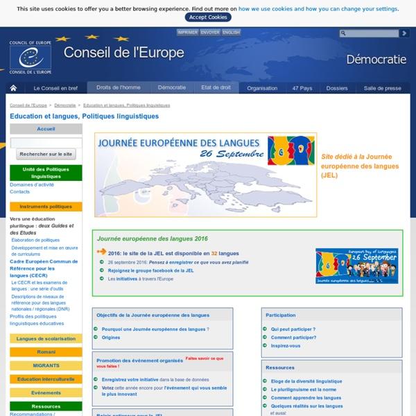 Journée européenne des langues(JEL)