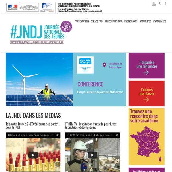 La Journée Nationale des Jeunes - JNDJ