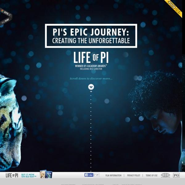 Pi's Epic Journey - LIFE OF PI on Digital HD