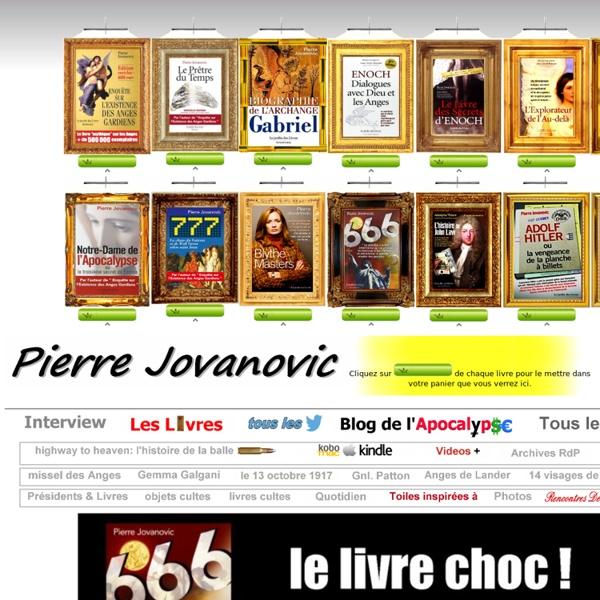 PIERRE JOVANOVIC (site officiel)