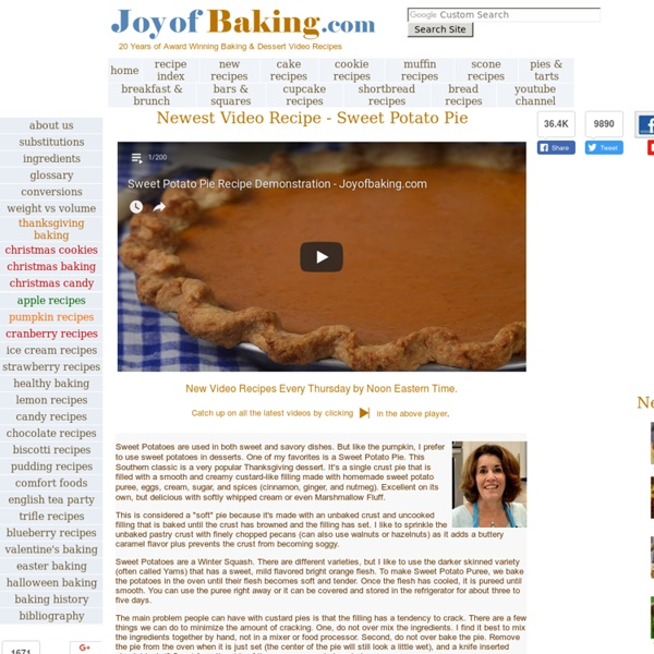 JoyofBaking.com - Baking & Dessert *Video Recipes*
