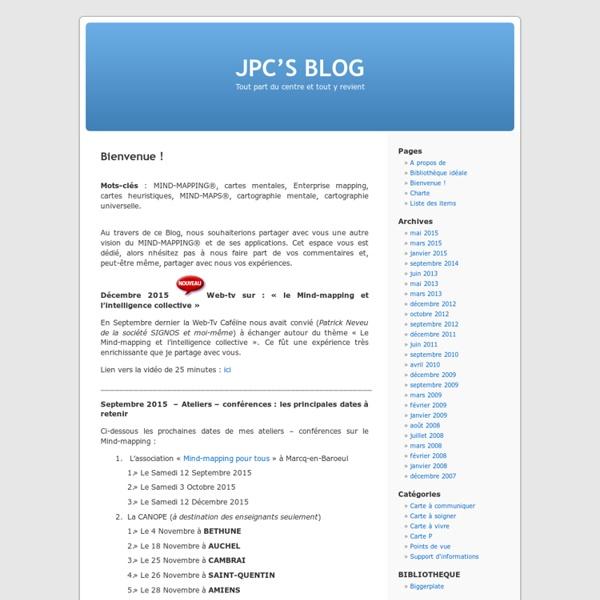 JPC'S BLOG » Bienvenue !