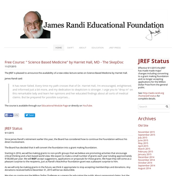 James Randi Educational Foundation