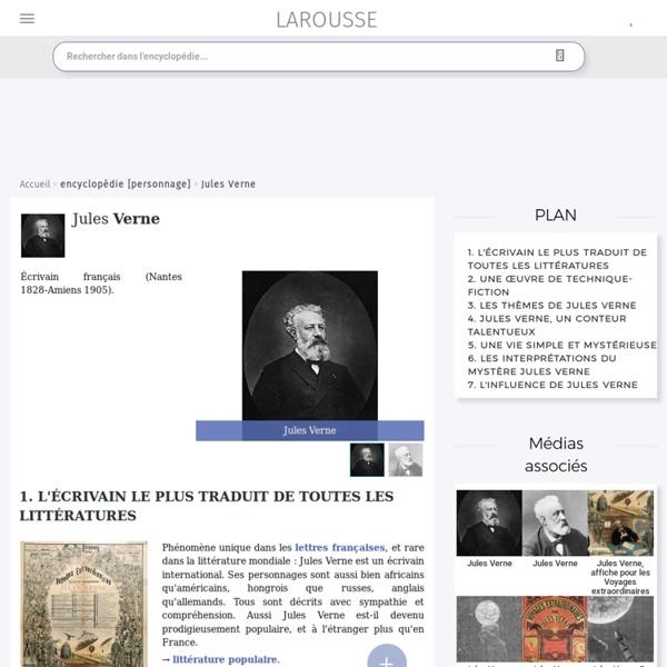 Dossier Jules Verne : 1- la carte d'identité (lire jusqu'au 1. , compris, de la ressource)