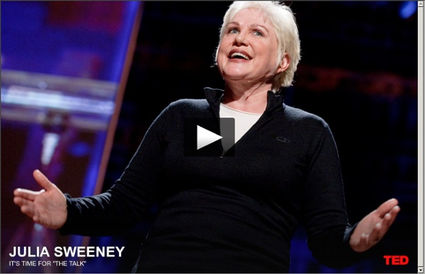 "Julia Sweeney has ""The Talk"""