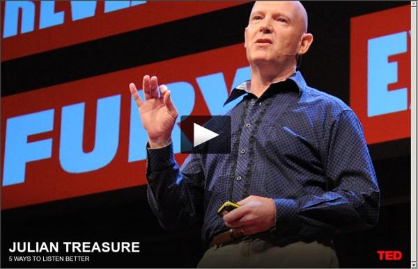 Vidéo : conférence TED : 5 manières de mieux écouter