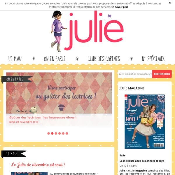 Juliemag.com - Le site officiel du magazine Julie