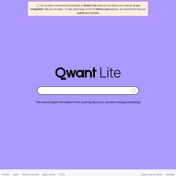 Qwant Junior (moteur de recherche)