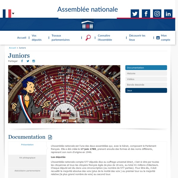 Assemblée Nationale Junior