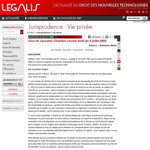 Arrêt juridique 2