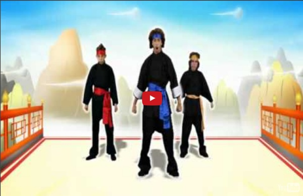 Just Dance Kids - Kung Fu Fighting (Wii Rip)