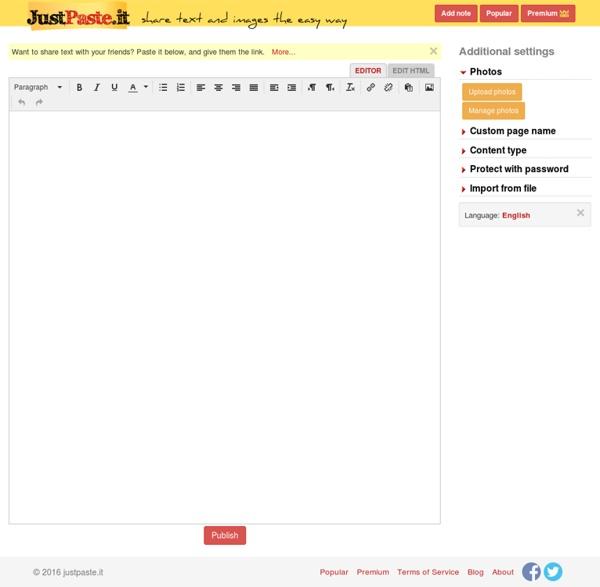 Sharetext Org User