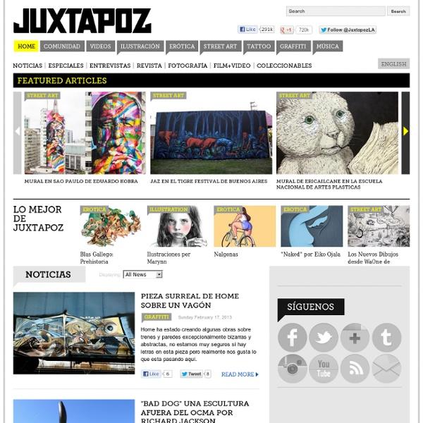 Juxtapoz Magazine - Juxtapoz