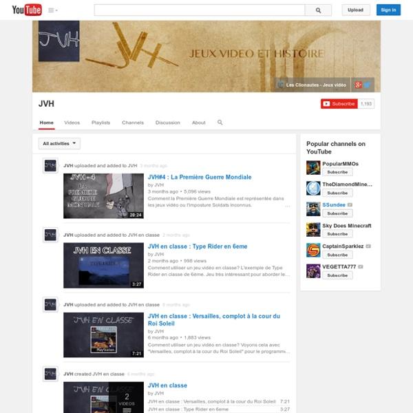 JVH - Jeux Vidéo & Histoire