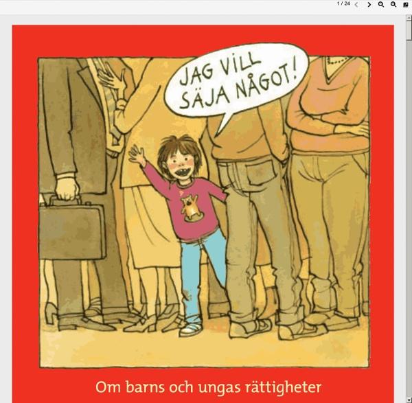 Om barn och ungas rättigheter från 6-9 år