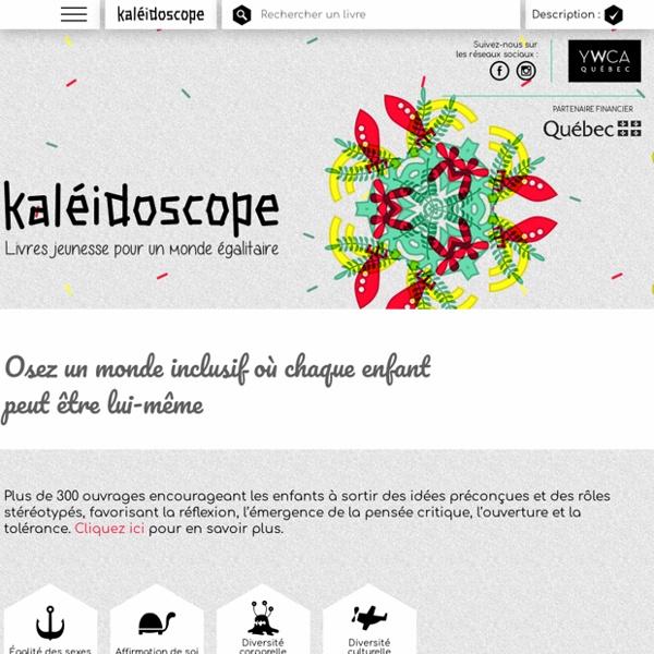 Kaléidoscope - Livres jeunesse pour un monde égalitaire