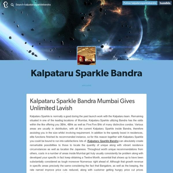 Kalpataru Sparkle Bandra East Mumbai