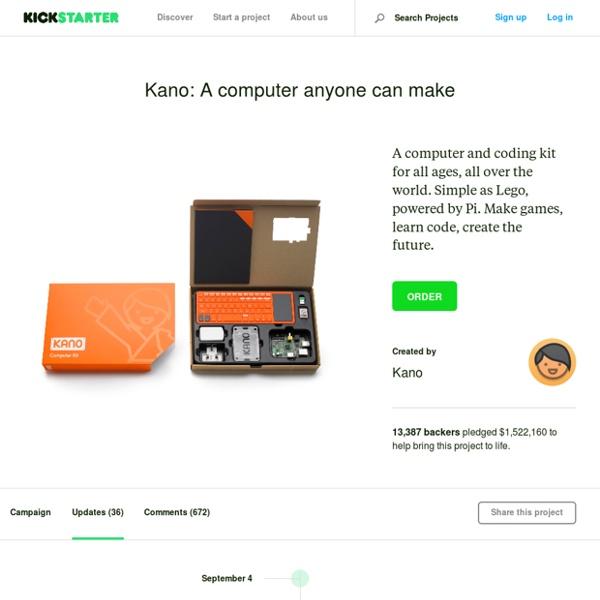 Kano: A computer anyone can make by Kano