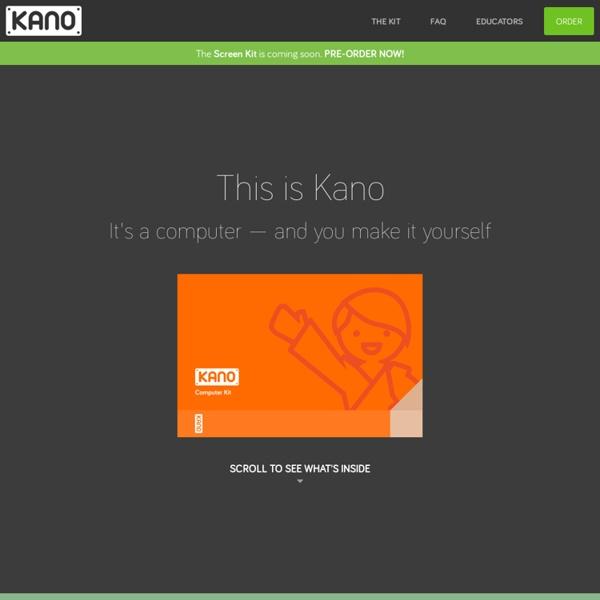 Kano - Make a Computer