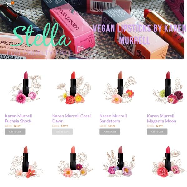 Karen Murrell Vegan Lipsticks - Stella