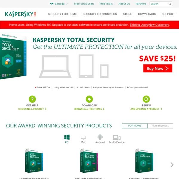 Kaspersky Lab: Antivirus software