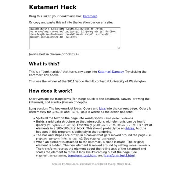Katamari Hack