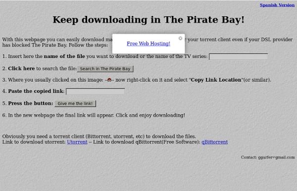 pirates bay free download software