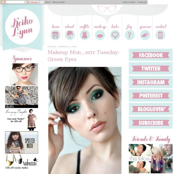 Makeup Mon...errr Tuesday: Green Eyes - StumbleUpon