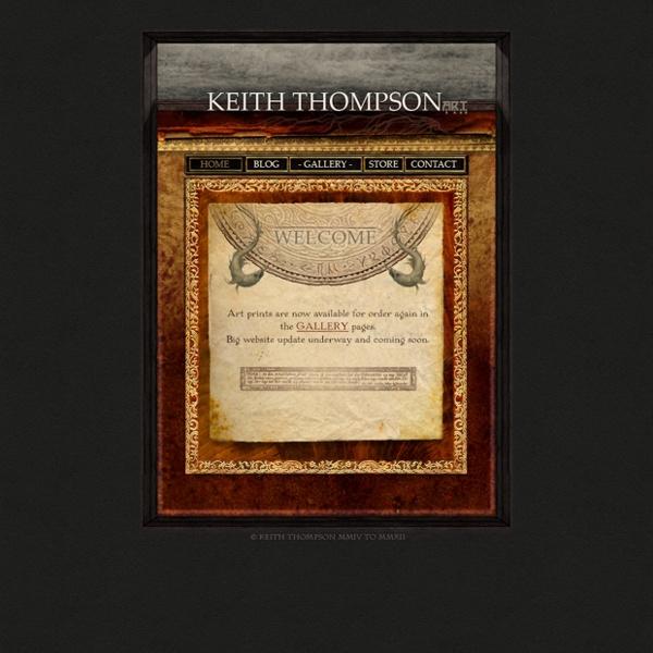 Keith Thompson Art