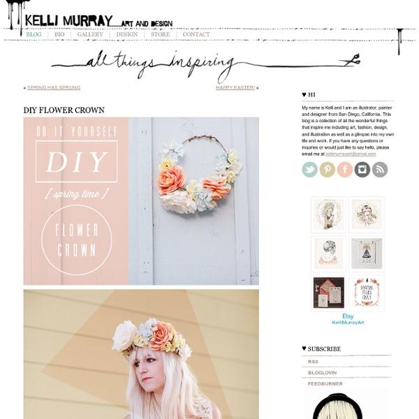 Blog Archive » DIY FLOWER CROWN