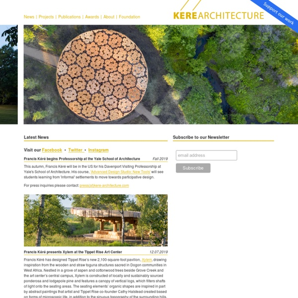 Francis Kere Architecture