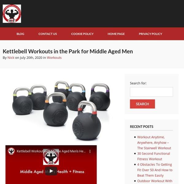 Kettlebell Workout For Men Over 50