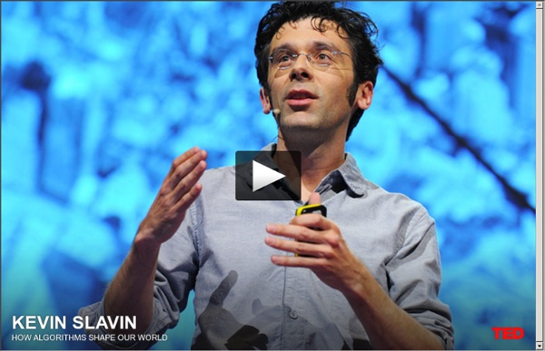 Kevin Slavin: How algorithms shape our world