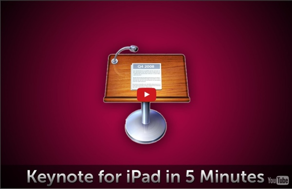 Keynote for iPad in 5 Minutes