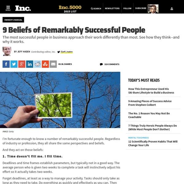 9 Keys to Business & Career Success