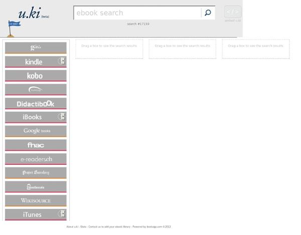 U.ki : moteur de recherche de livres numériques