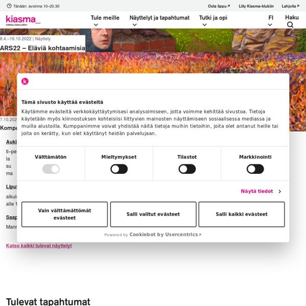 Kiasma - Nykytaiteen museo - Nykytaiteen museo Kiasma