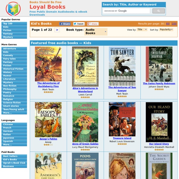 Children - Download Audiobooks & eBooks for iPhone, Android, Kindle and more!