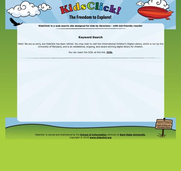 KidsClick! Web Search