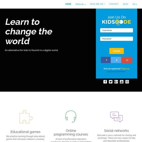 Apprendre le monde du numérique aux enfants