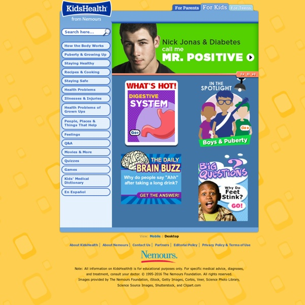 Kids Home Page