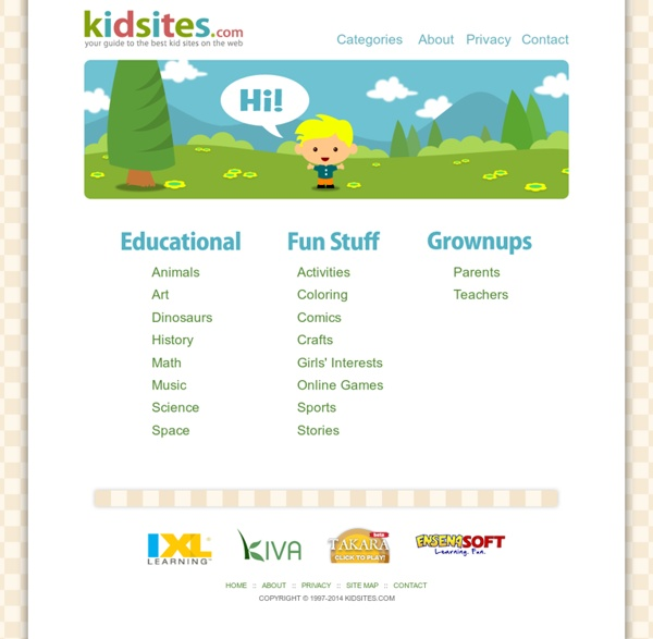 KidSites.com - Your Guide to the Best Kid Sites on the Web