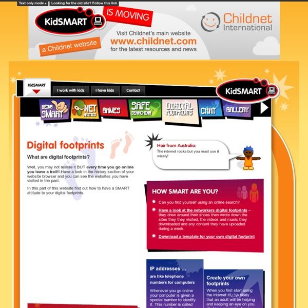 Kidsmart: Digital Footprints