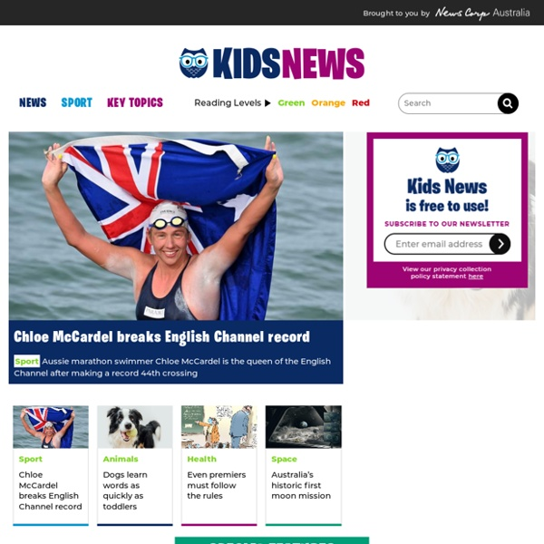 A ready-to go literacy resource for teachers using current daily news stories for students in the classroom.