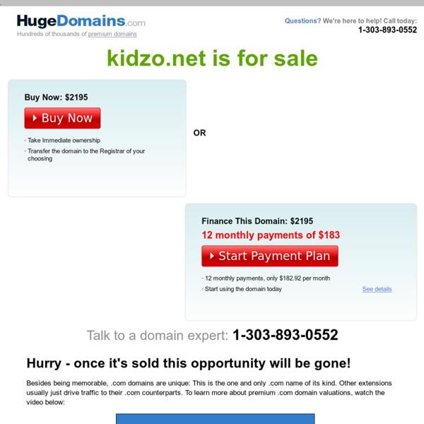 Kidzo.net : Site de jeux pour enfants à partir de 3 ans